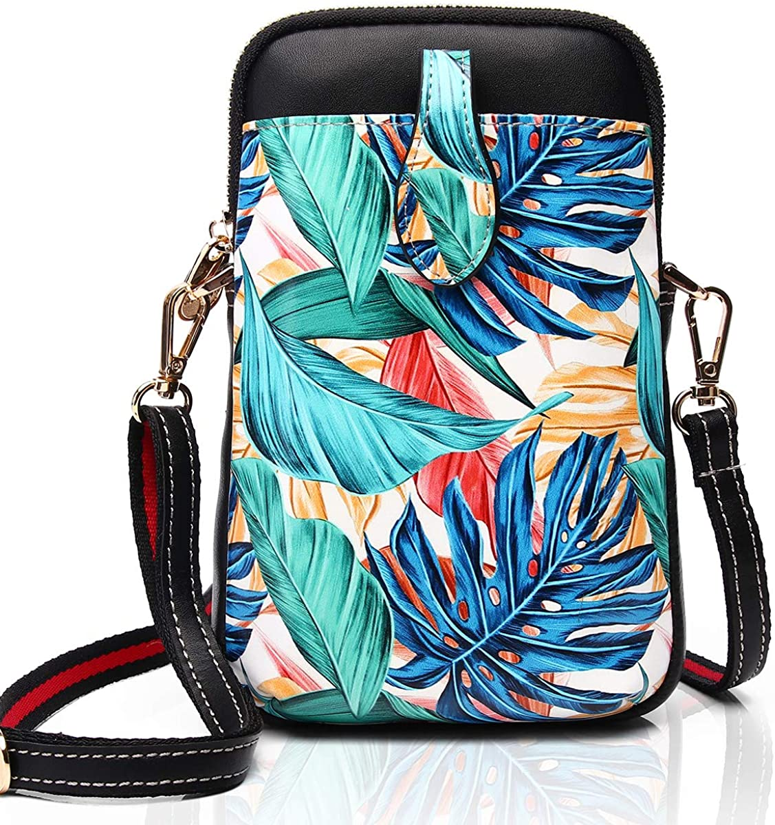 APHISON Small Crossbody Bag Women Cell Phone Small Shoulder Bags Microfiber leather Wallet