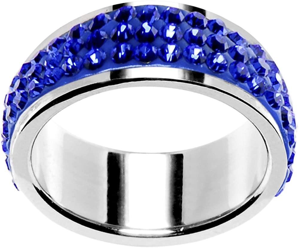 Body Candy Size 6 Blue Ferido Ring