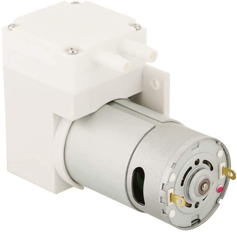 Vacuum Pump, DC12V Mini Vacuum Pump Negative Pressure Suction Pumping for Food Packaging Machine for Food Storage, Space Saving