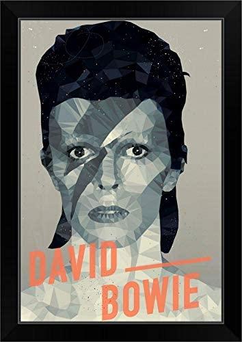 CANVAS ON DEMAND David Bowie Black Framed Art Print, 19x27x1