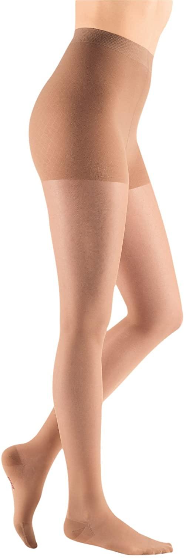 mediven Sheer & Soft, 15-20 mmHg, Compression Pantyhose, Closed Toe