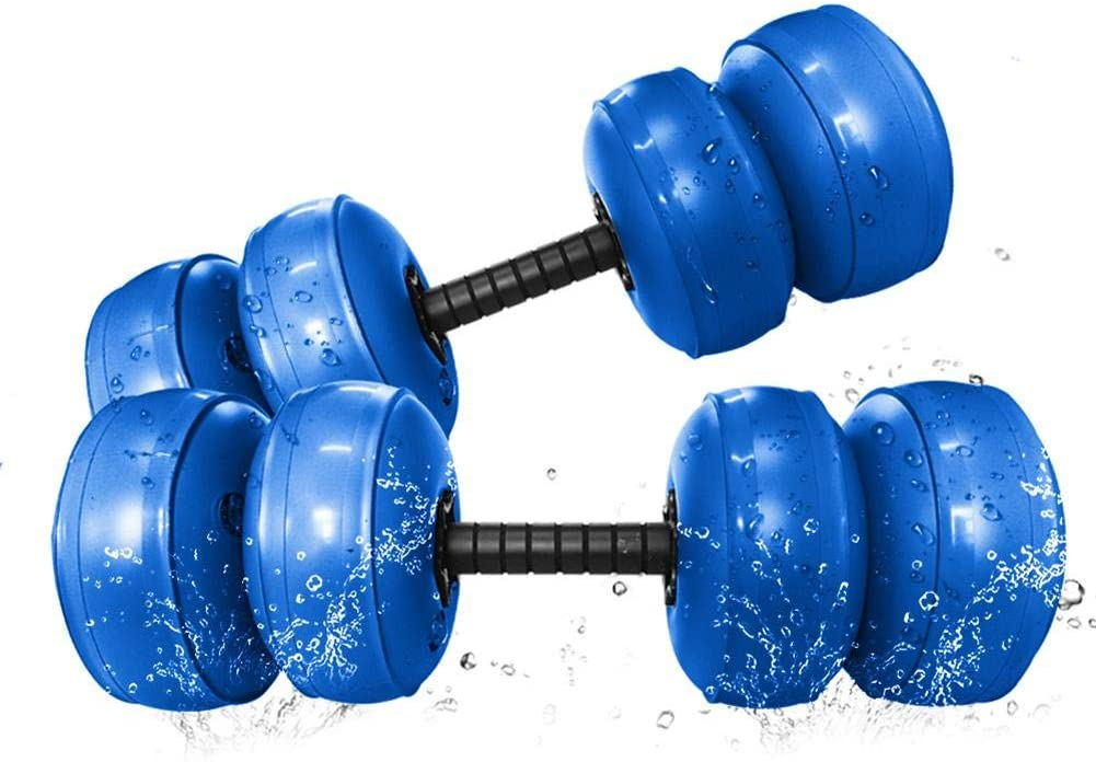 Voyoo Dumbells Weights for Home Gym Dumbbells -Dumbbells Weight Adjustable Water Filled Dumbbells Exercise Training Equipment for- Men Women