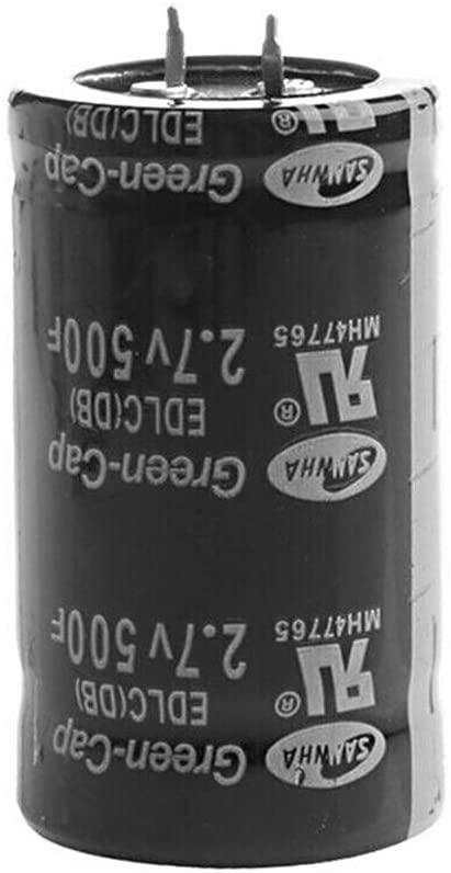 KKmoon 1pcs 2.7V 500F Capacitors Car Capacitor Farad Capacitor Super Farad Capacitor 3560mm