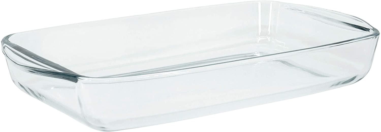 Red Co. Rectangular Clear Glass Casserole Baking Dish, Oven Basics Bakeware — 1.6 Quart - 11½