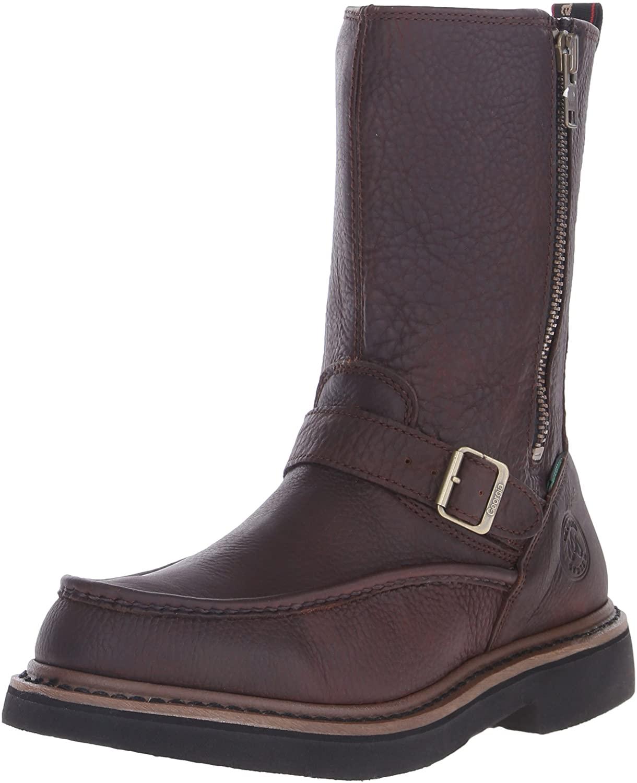 Georgia Boot Men's G4124 Wellington Work Shoe