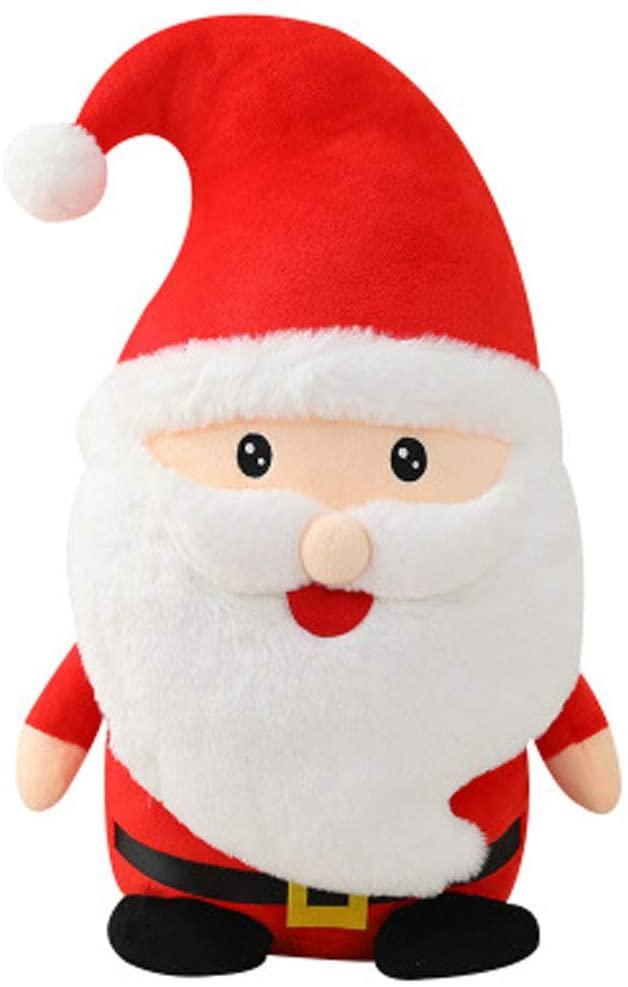 HitHopKing Santa Claus Plush Toy, Santa Nick Kids Soft Stuffed Toy - Doll Toys for Boys and Girls, Funny Xmas Gift (Santa Plush Toys, 22CM)