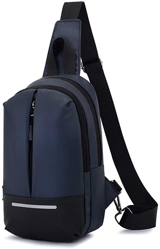 Lecxci Sling Backpack Outdoor Waterproof Bag Multifunctional Crossbody Daypack for Men/Women