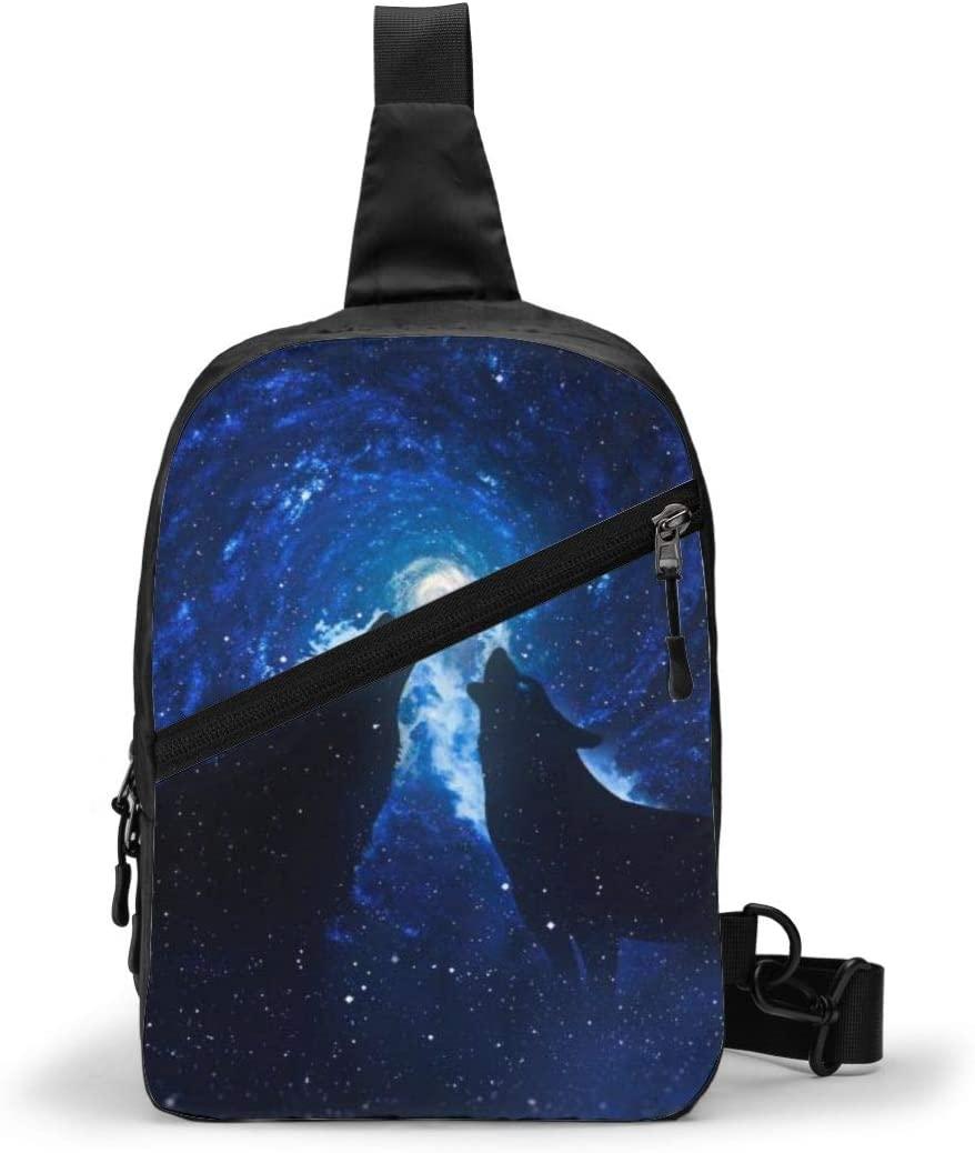ACHOGI Ecosystem Foldable Small Chest Bag Crossbody Bag for Men Women Travel Gym Sport Hiking, Lightweigh