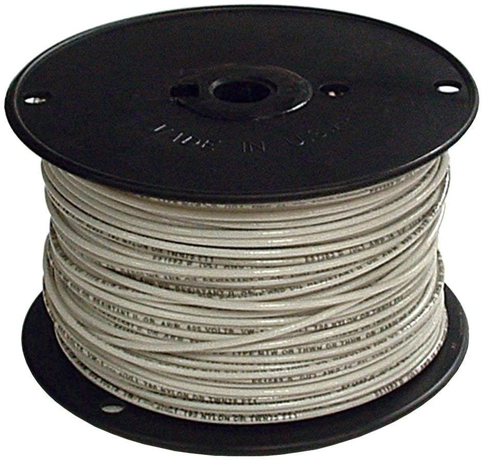 12 Gauge THHN Stranded Copper Wire (2500, White)
