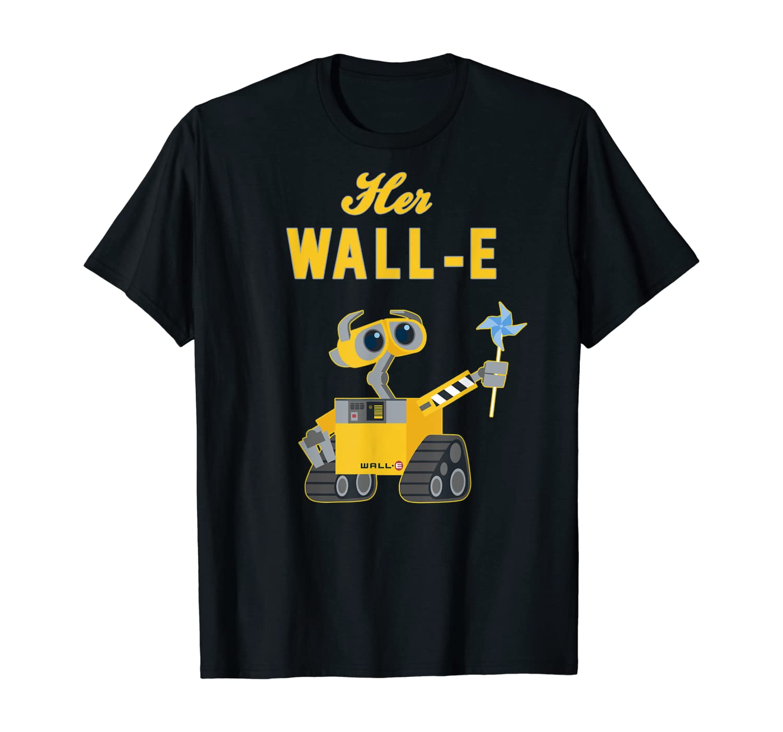 Disney Pixar Wall-E Her Wall-E Couples T-Shirt