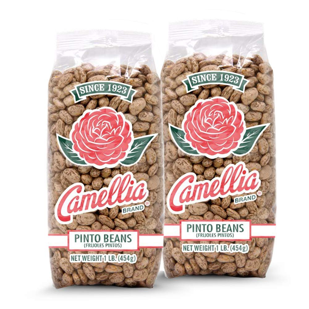 Camellia Brand Dry Pinto Beans, 1 Pound (Pack of 2)