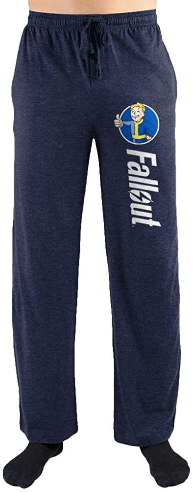 Bioworld Fallout Vault Boy Thumbs Up Print Men's Loungewear Lounge Pants Navy
