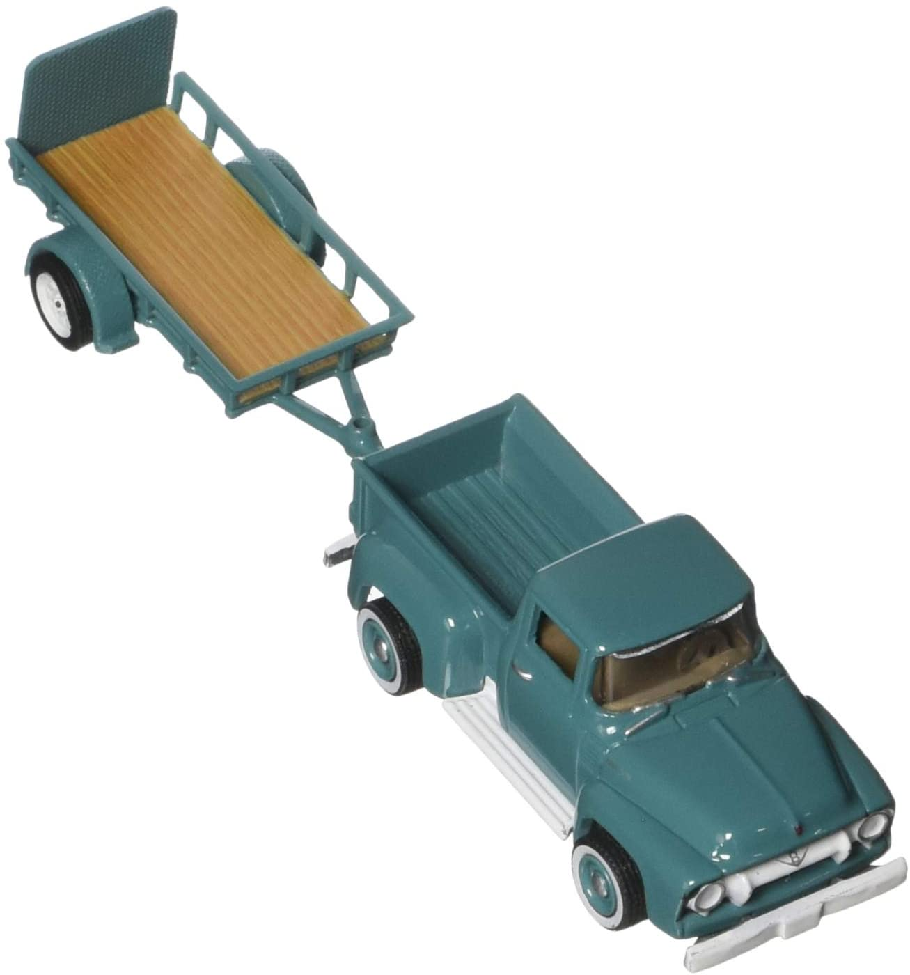 Greenlight 1:64 Hitch & Tow Series 13 1954 Ford F-100 and Utility Trailer Vehicle
