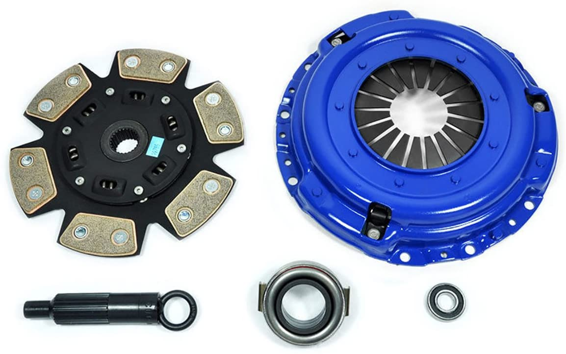 PPC RACING STAGE 3 CERAMIC 6-PUCK CLUTCH KIT FOR 1986-1988 TOYOTA SUPRA 3.0L 7MGE