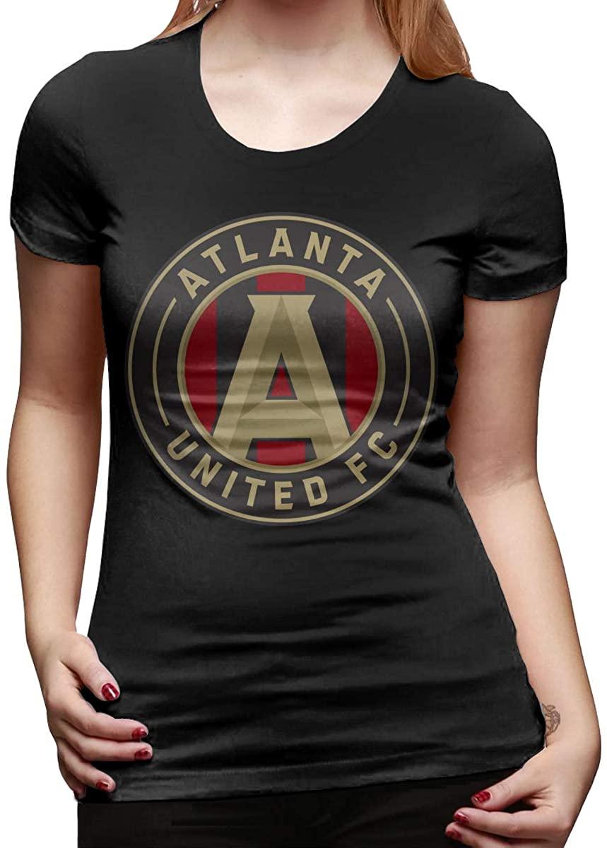 Atlanta United Logo Women's Basic Short Sleeve T-Shirt