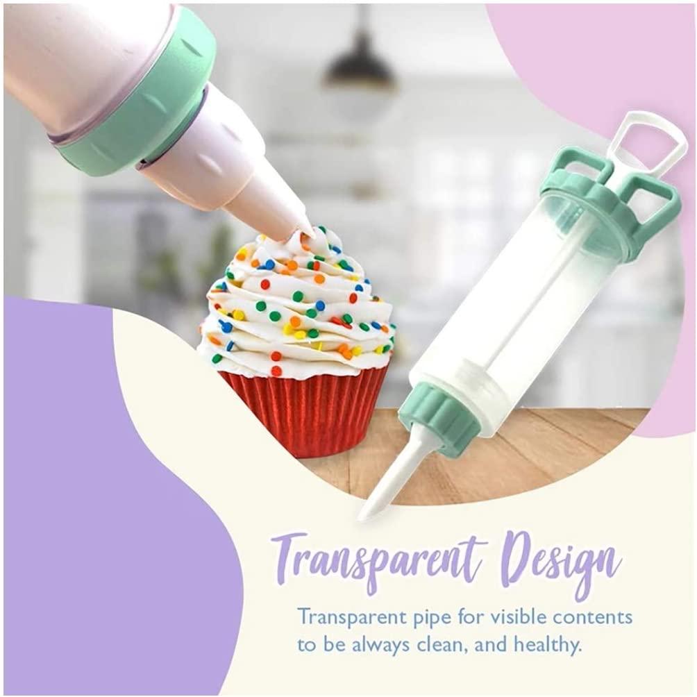 Fine 8Pcs Tips Cake Decorating Supplies Kit, Baking Supplies Cupcake Icing Tips Pastry Decorating Tool for Baking Decorating Cake