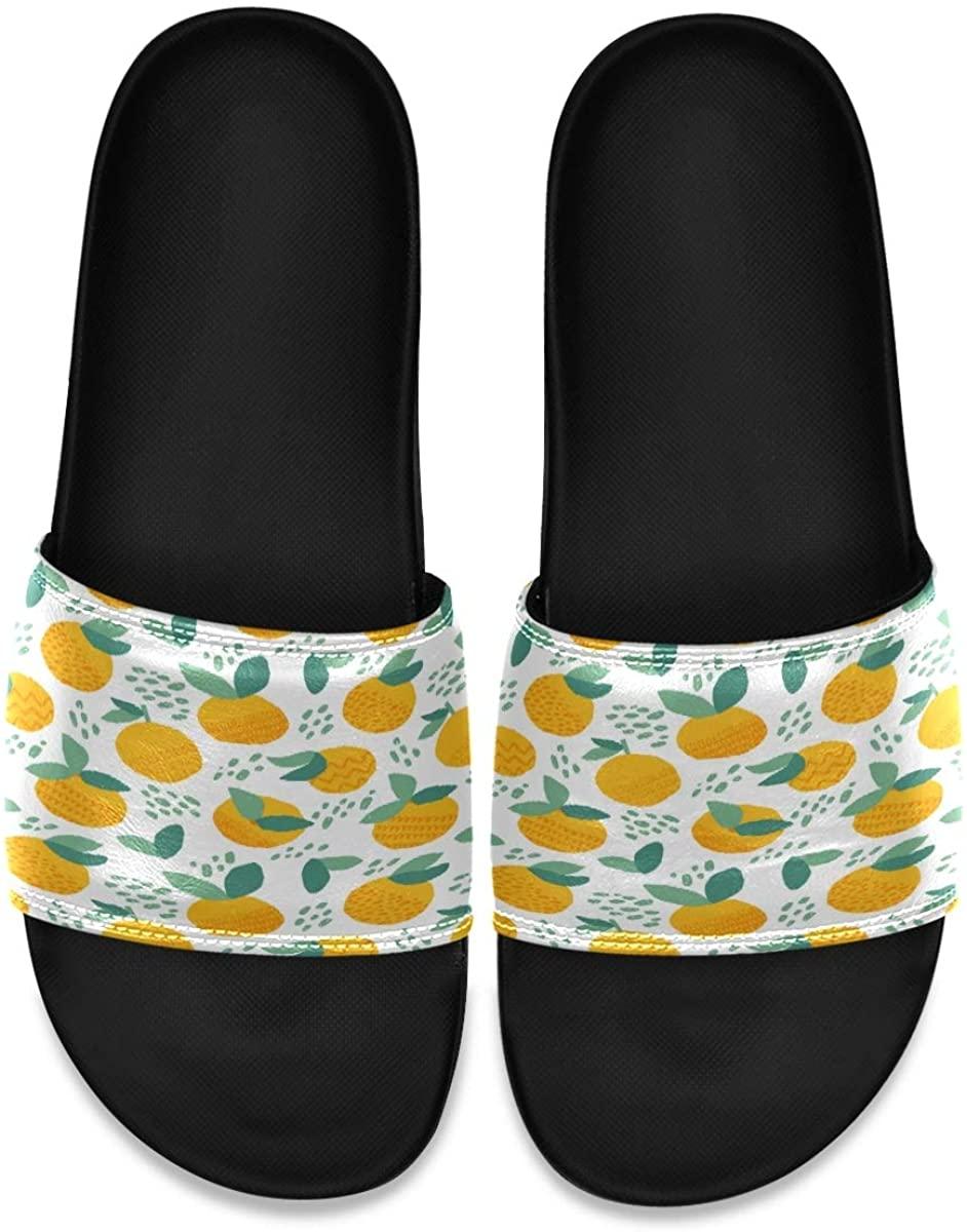Vintage Anchor Color Engraving Ship Mens Indoor Outdoor Bedroom Slippers Adjustable Sandals