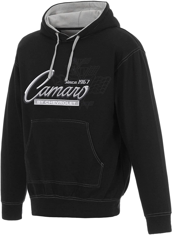 Jh Design Men's Chevy Camaro Pullover Hoodie Logo Sweatshirt