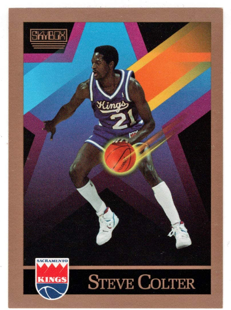 Steve Colter - Sacramento Kings (Basketball Card) 1990-91 Skybox # 408 Mint