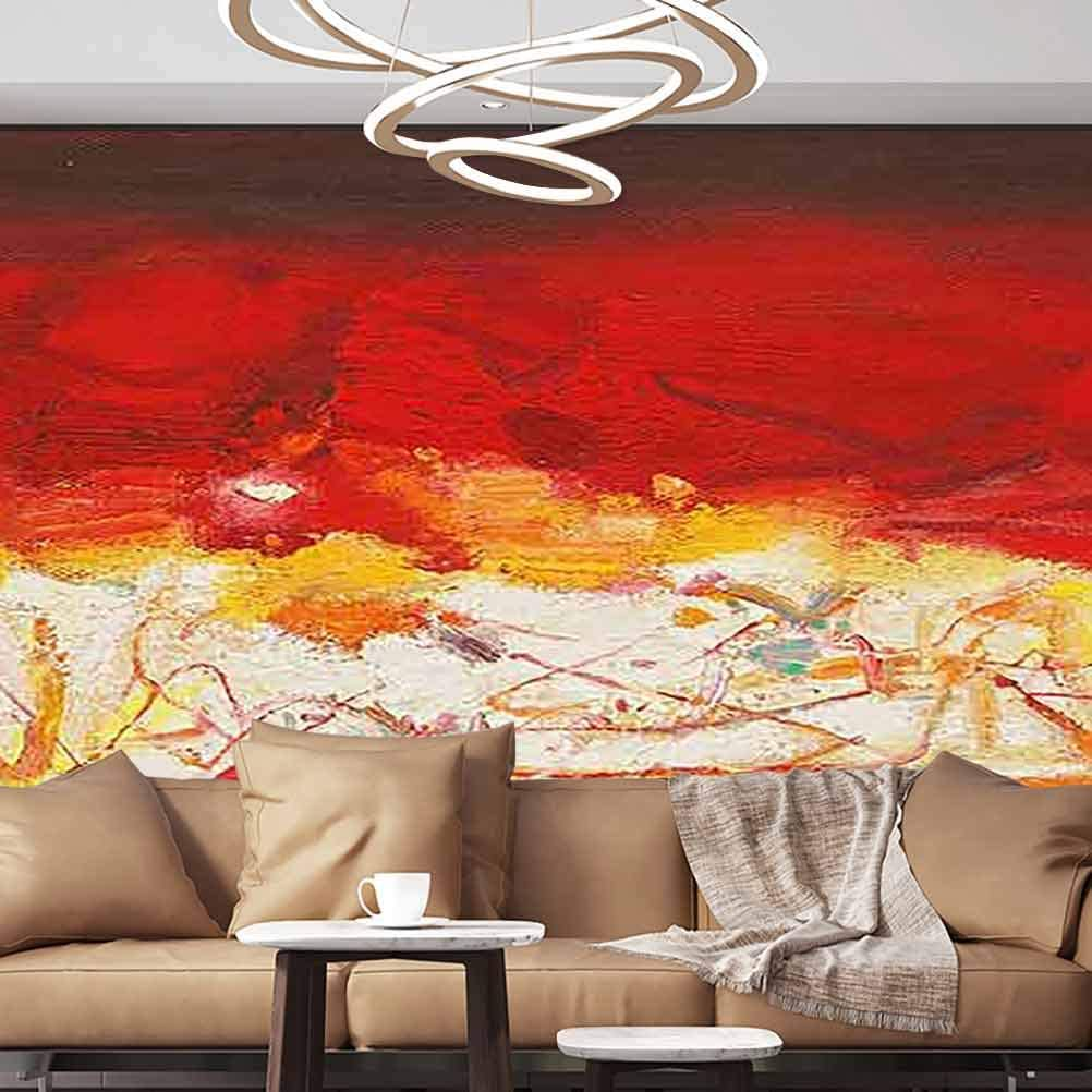 Albert Lindsay Backdrop Wall Stickers Murals Abstract Modern Art Wallpaper Photoposter,152X108 inches/386x275 cm,for Office Nursery School Family Decor Playroom Birthday Gift