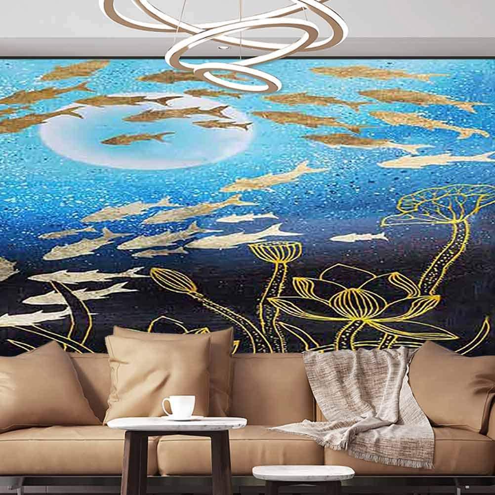 Albert Lindsay Backdrop Wallpaper Mural Modern Art Abstract pop Figure Peel and Stick PVC Wallpaper,152X108 inches/386x275 cm,for Livingroom Bedroom Nursery School Family Wall Decals