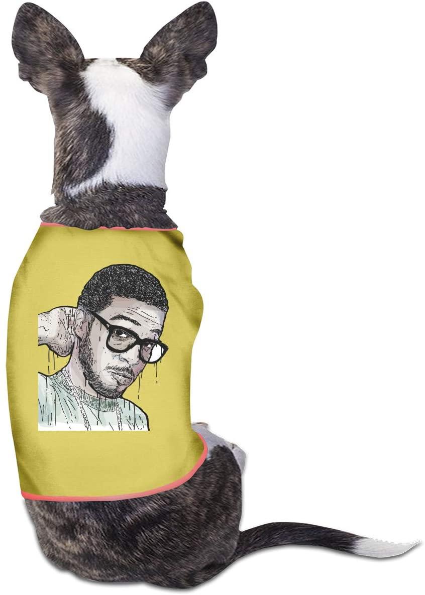 Qq1-asd-store Kid Cudi Pet Clothes Animals Vest Tracksuit Dog Cat Puppy Costumes