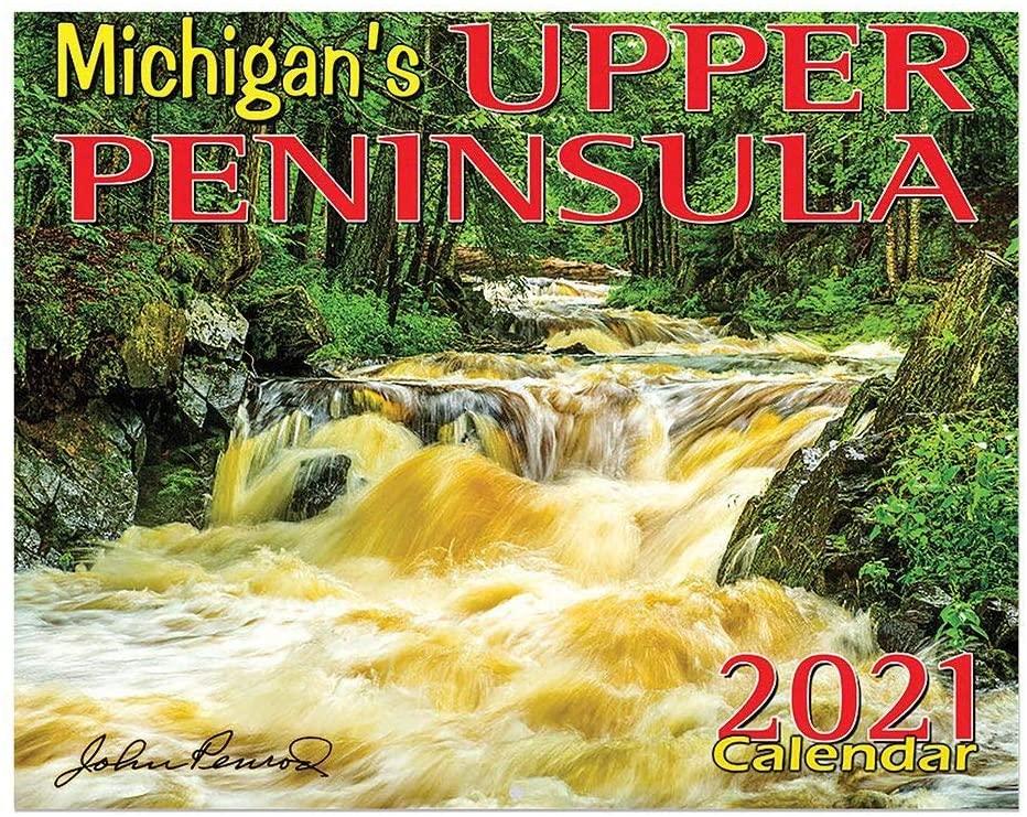 TF Publishing, 2021 Michigan Upper Peninsula Wall Calendar