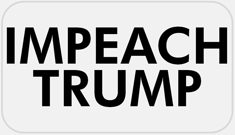 Impeach Trump - 50 Stickers Pack 2.25 x 1.25 inches - Anti Donald