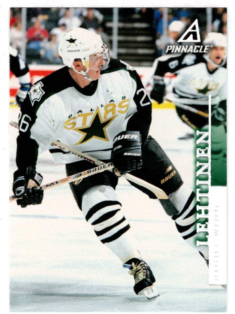 Jere Lehtinen - Dallas Stars (Hockey Card) 1997-98 Pinnacle # 118 NM/MT
