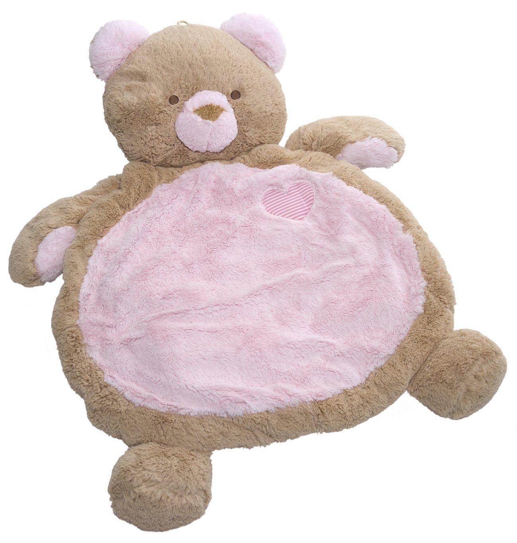 Mary Meyer Bestever Baby Mat, Pink Bear