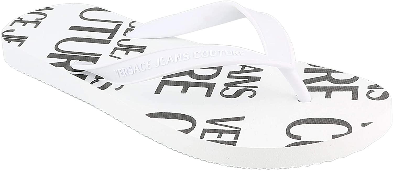 Versace Jeans Couture Men flip Flops Bianco 10 US