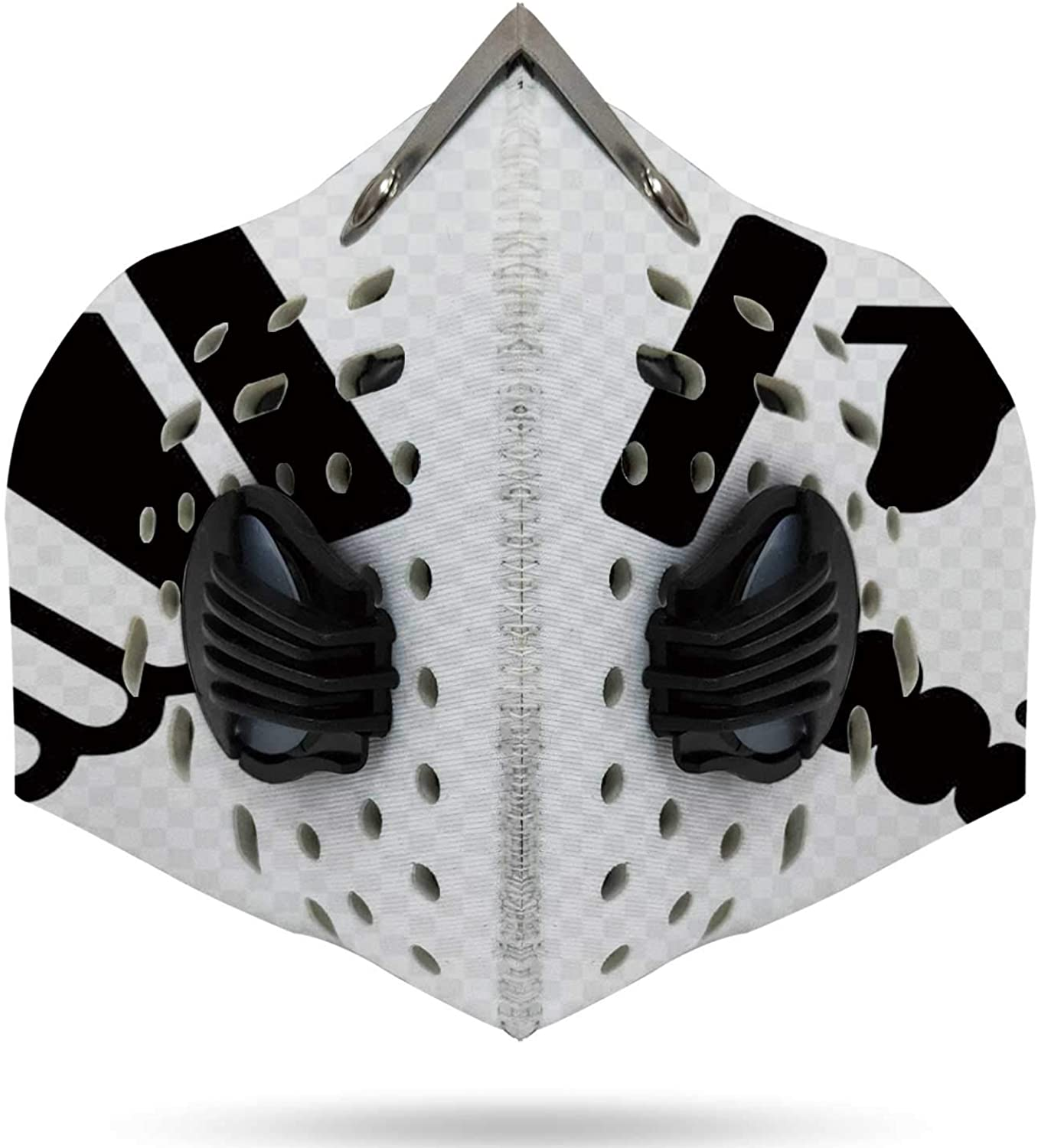 White Concrete Wall Germany,Unisex Sports Face Cover anas for Dust, Outdoors, Festivals, Sports