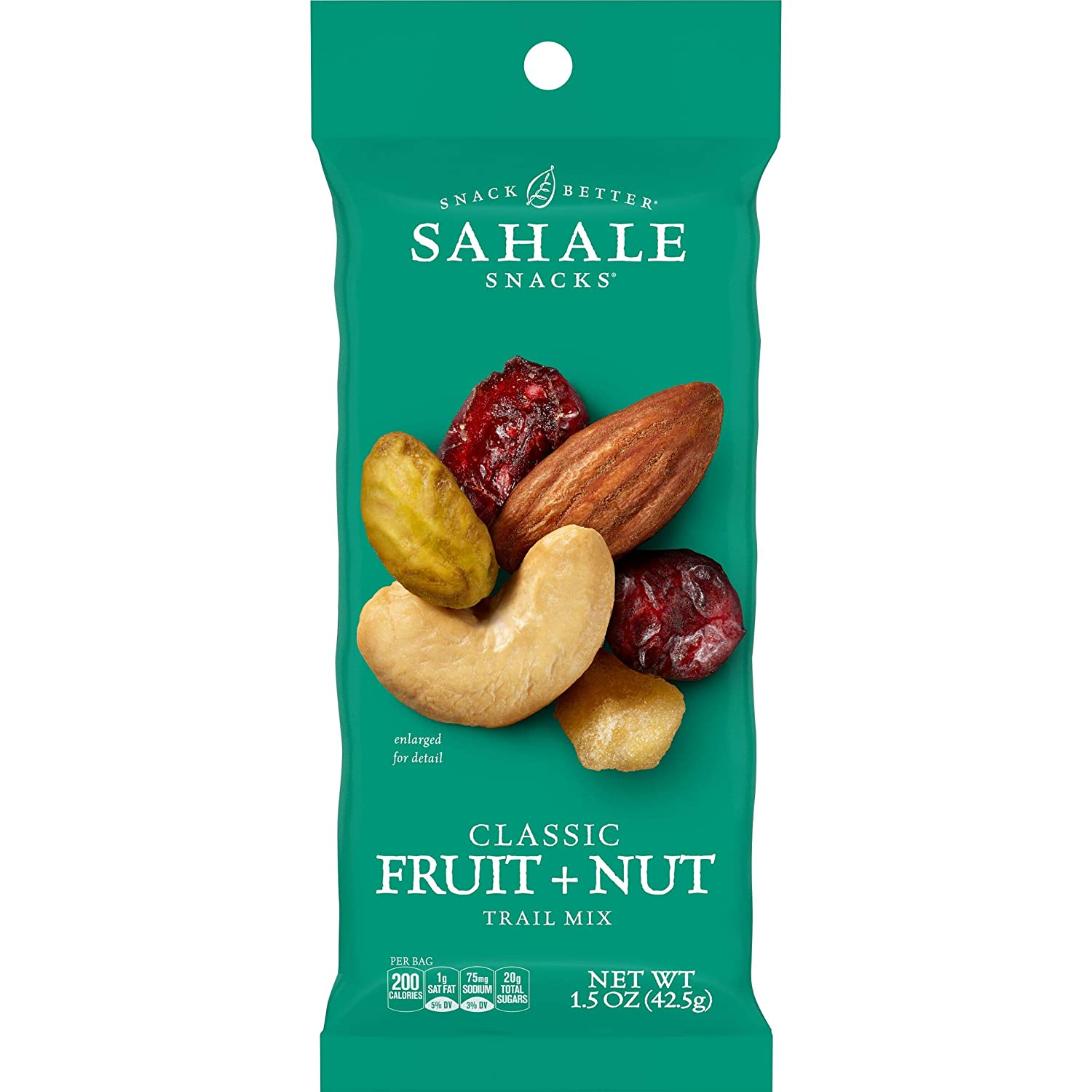 Sahale Snacks Classic Fruit and Nut Trail Mix, 1.5 Ounces (Pack of 9)