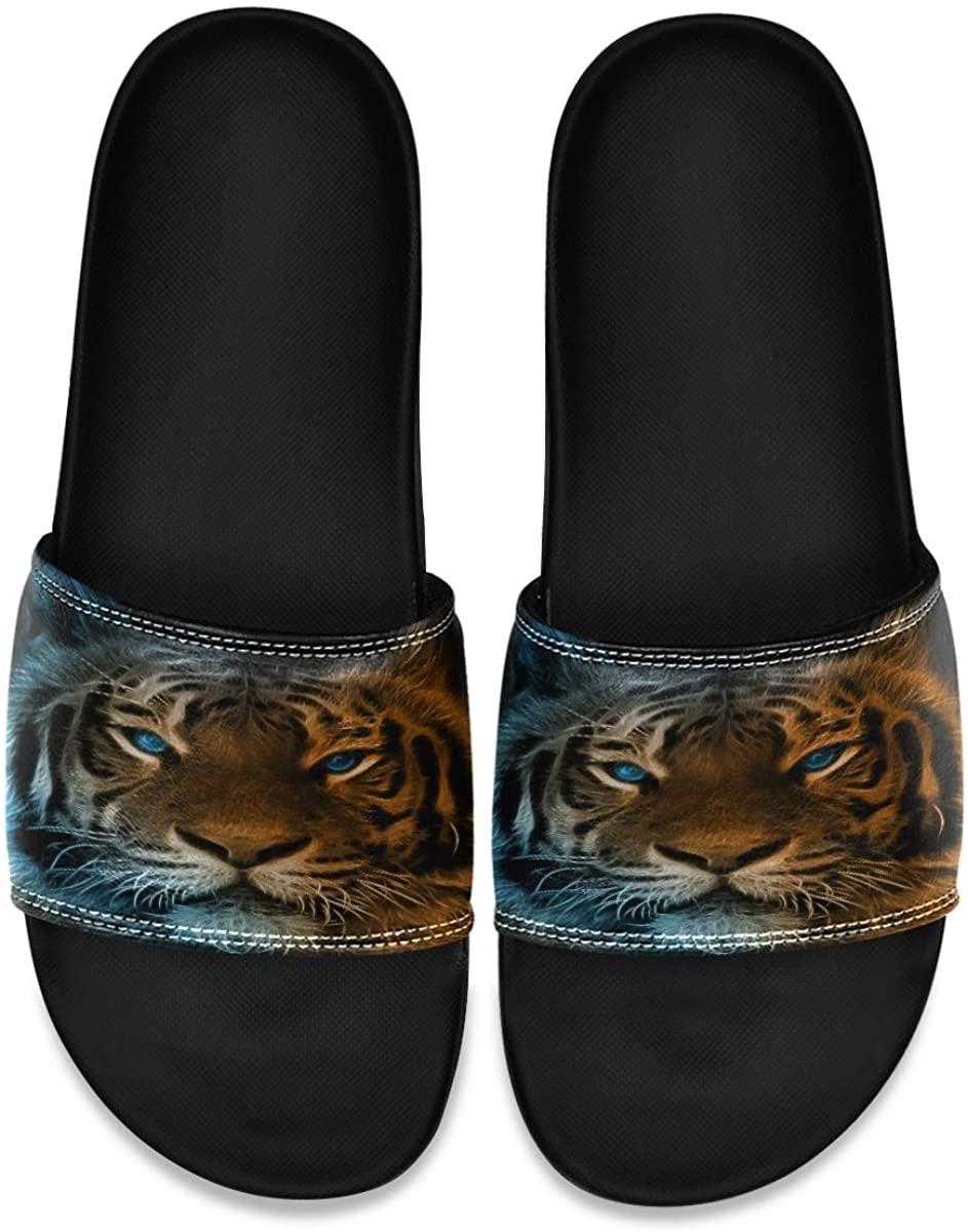 Ladninag Arabic Indian Turkish Ornament Style Mens Indoor Outdoor Bedroom Slippers Adjustable Sandals