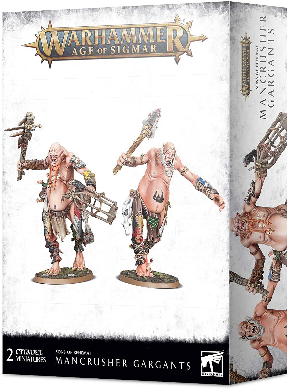 Games Workshop Age of Sigmar Sons of Behemat Mancrusher Gargants