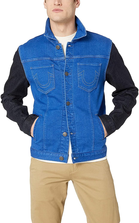 True Religion mens Dylan Denim Jacket