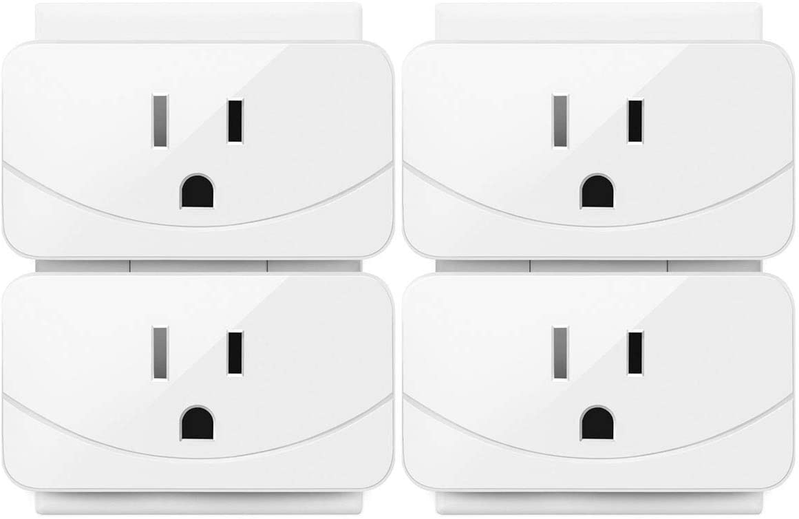 Enther Smart Plug,Mini Wifi Smart Outlet 1 Pack, smart socket that Works with DHgate Alexa ,Remote Control Your Devices from Anywhere, No Hub Required, ETL and FCC Listed, White