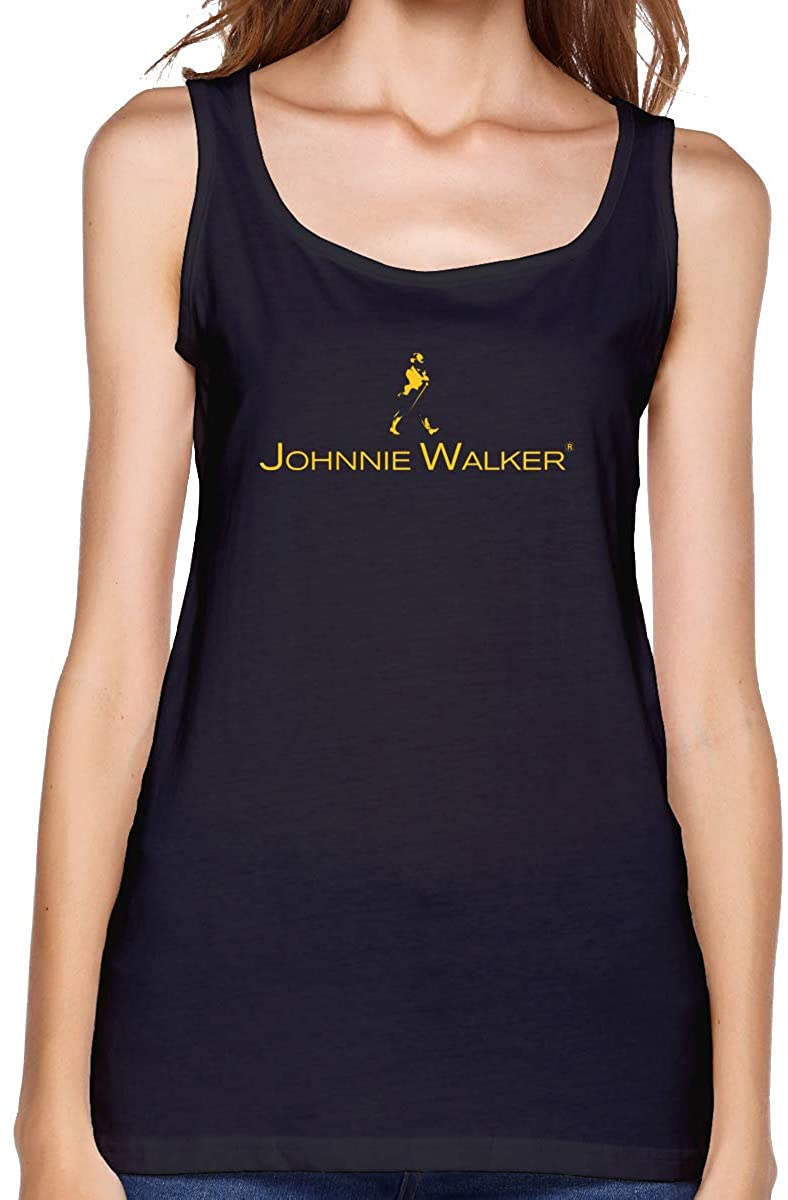 Qq15-kcdds-store Johnnie Walker Woman's Cotton Running Workouts Clothes Yoga Tank Tops Women's Tank Top Shirt