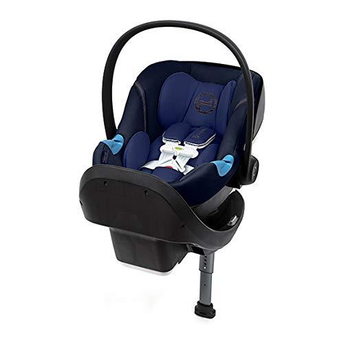 Cybex Aton M Infant Car Seat with SensorSafe, Denim Blue