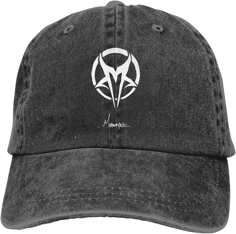 Fp-Linked Mudvayne Men's Short Sleeve T-Shirt and Adult Cowboy Hat Black