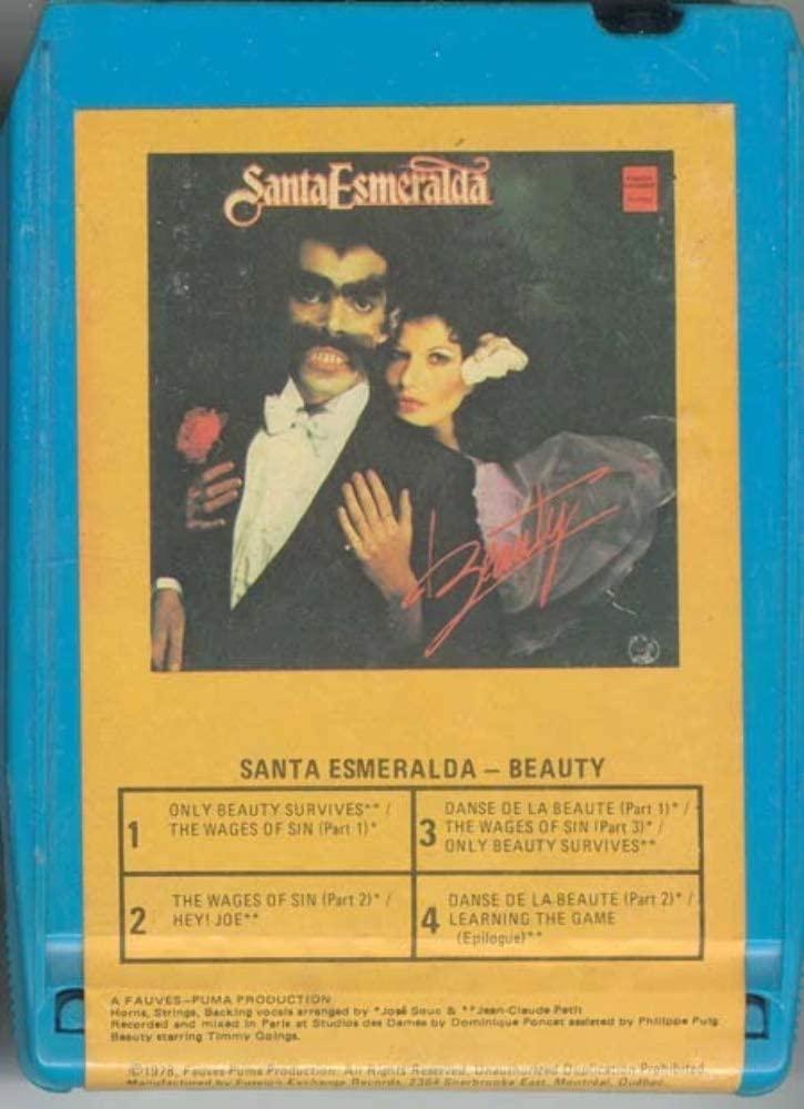 SANTA ESMERALDA Beauty 8 Track Tape