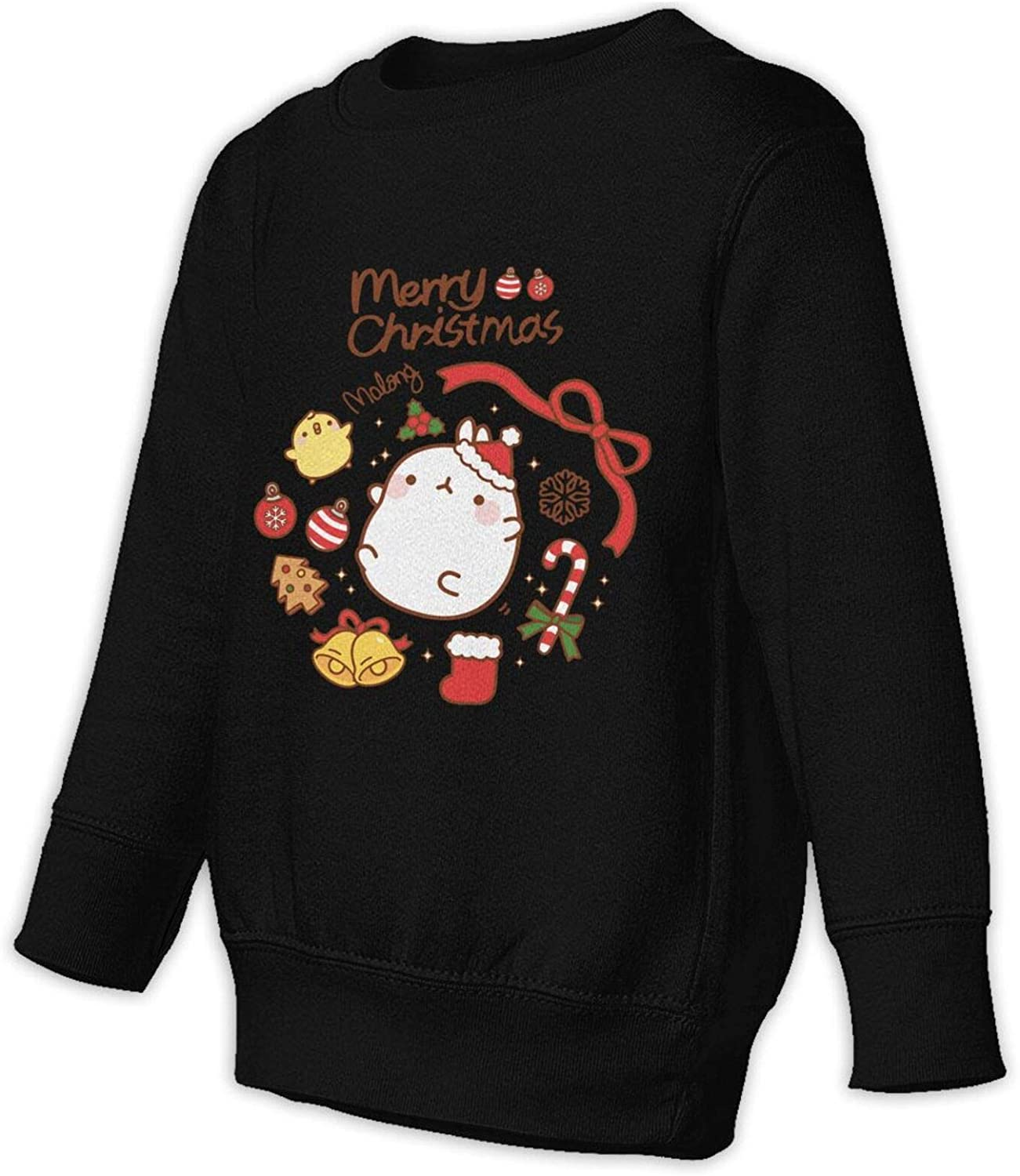 Thomasa Merry Christmas Kids Crew Neck Pullover Long Sleeve Sweater Hoodies Pullovers Sweatshirts Boys and Girl