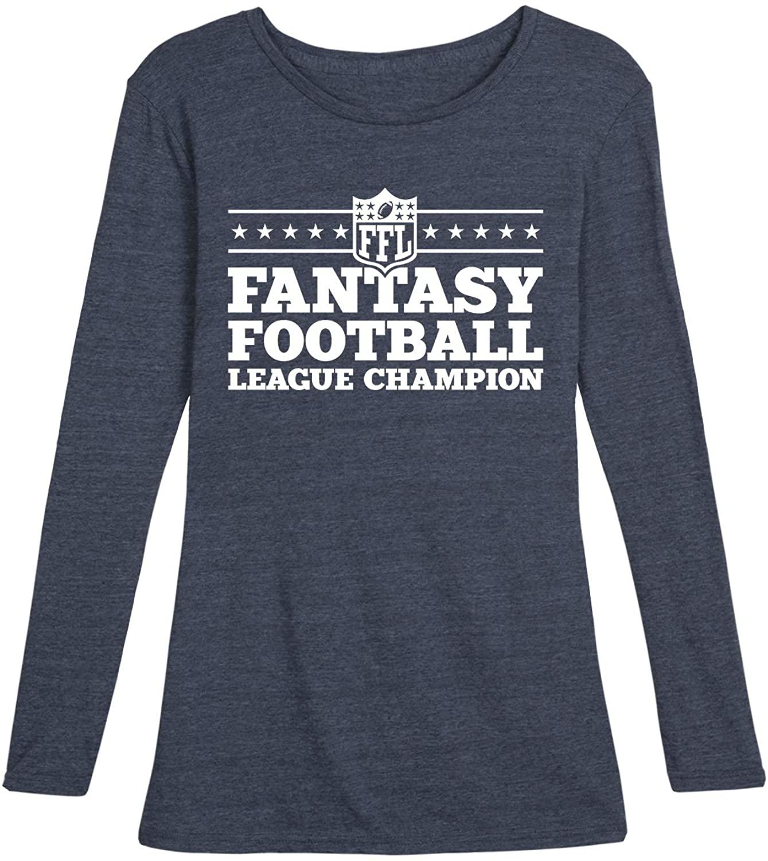 Fantasy Football League Champion - Ladies Long Sleeve Tee
