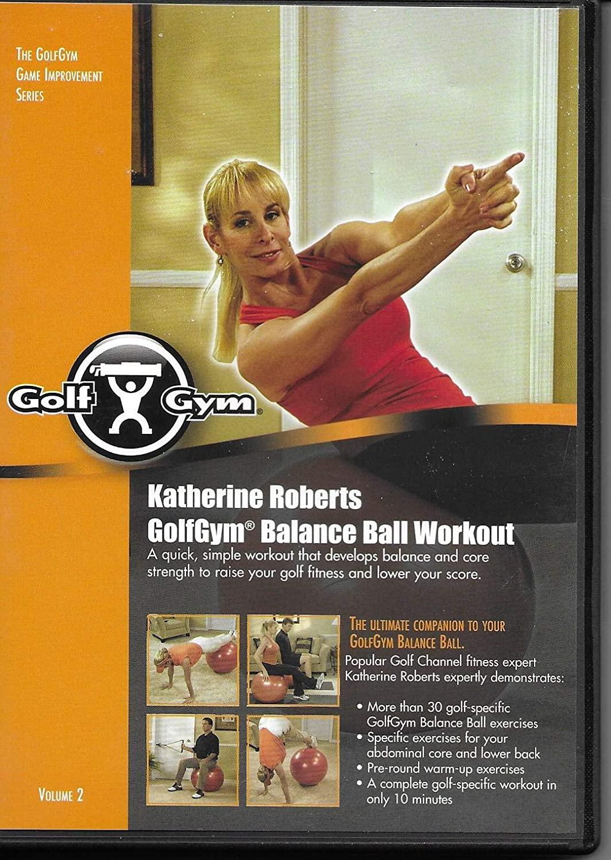 Golf Gym Balance Ball Workout By Katherine Roberts