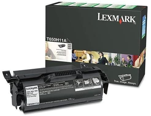 New - T650H11A High-Yield Toner, 25000 Page-Yield, Black - T650H11A