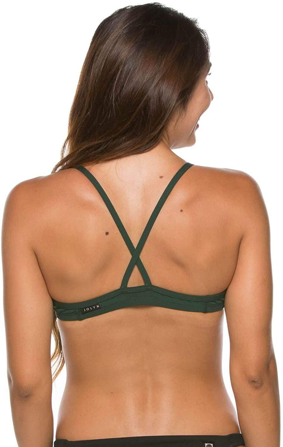 JOLYN Women's Fixed-Back Leon2 Swimwear Top