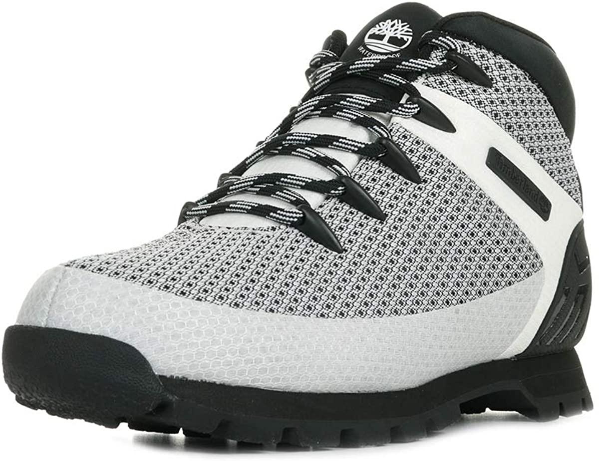 Timberland Mens Hiker Boots, White Knit, 41.5 EU
