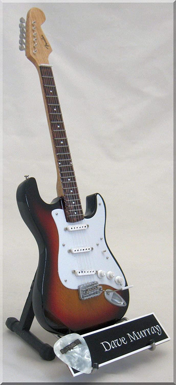 DAVE MURRAY Miniature Guitar IRON MAIDEN with Guitar Pick