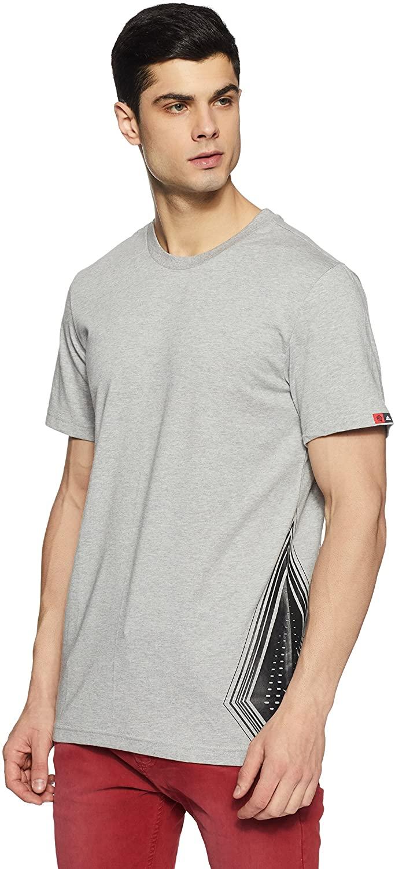 adidas Performance Mens Derrick Rose Onespark Basketball T-Shirt Light Grey 2XL