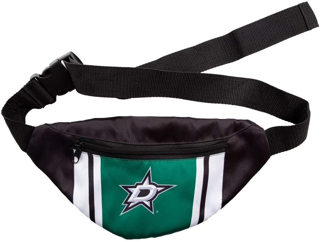 Official NHL Unisex Adjustable Fanny Pack (Dallas Stars)